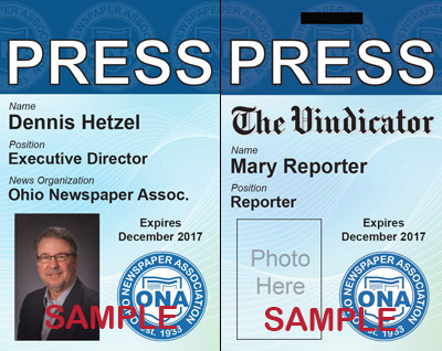 ONA press passes now available for member papers