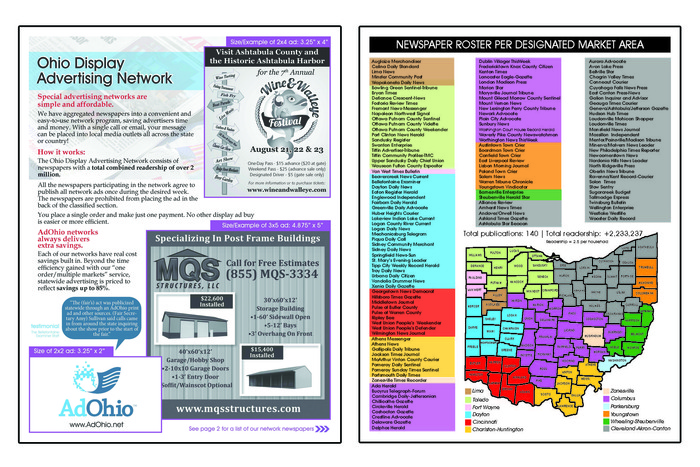 Statewide Display Sales Collateral