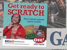 Ohio Lottery Sticky Note